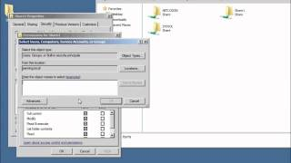 Server 2008 Lesson 10 - Sharing Folders and the File Services Role
