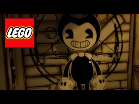 How To Build LEGO Bendy  Bendy and the Ink Machine