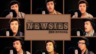 One Man Newsies (Nick Pitera) Disney