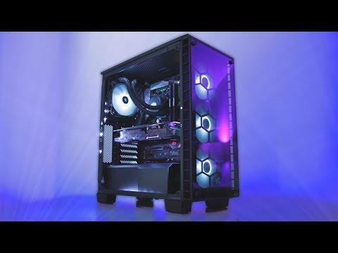 Building An Extreme RGB PC! - Corsair Lighting Node Pro