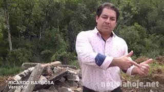 Vereador Ricardo Barbosa é autor de projeto para reciclagem de resíduos da construção civil