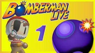 Bomberman Live - 4 PLAYER BATTLE (Part 1)