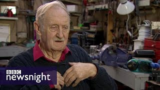 Wind-up radio inventor Trevor Baylis – Newsnight Archives