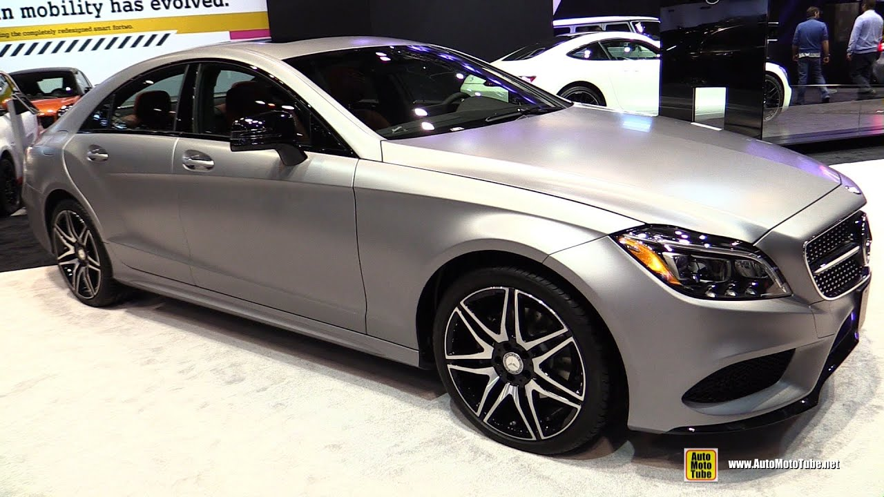 2016 mercedes cls400 coupe 4matic exterior and interior for 2016 mercedes benz cls400 4matic