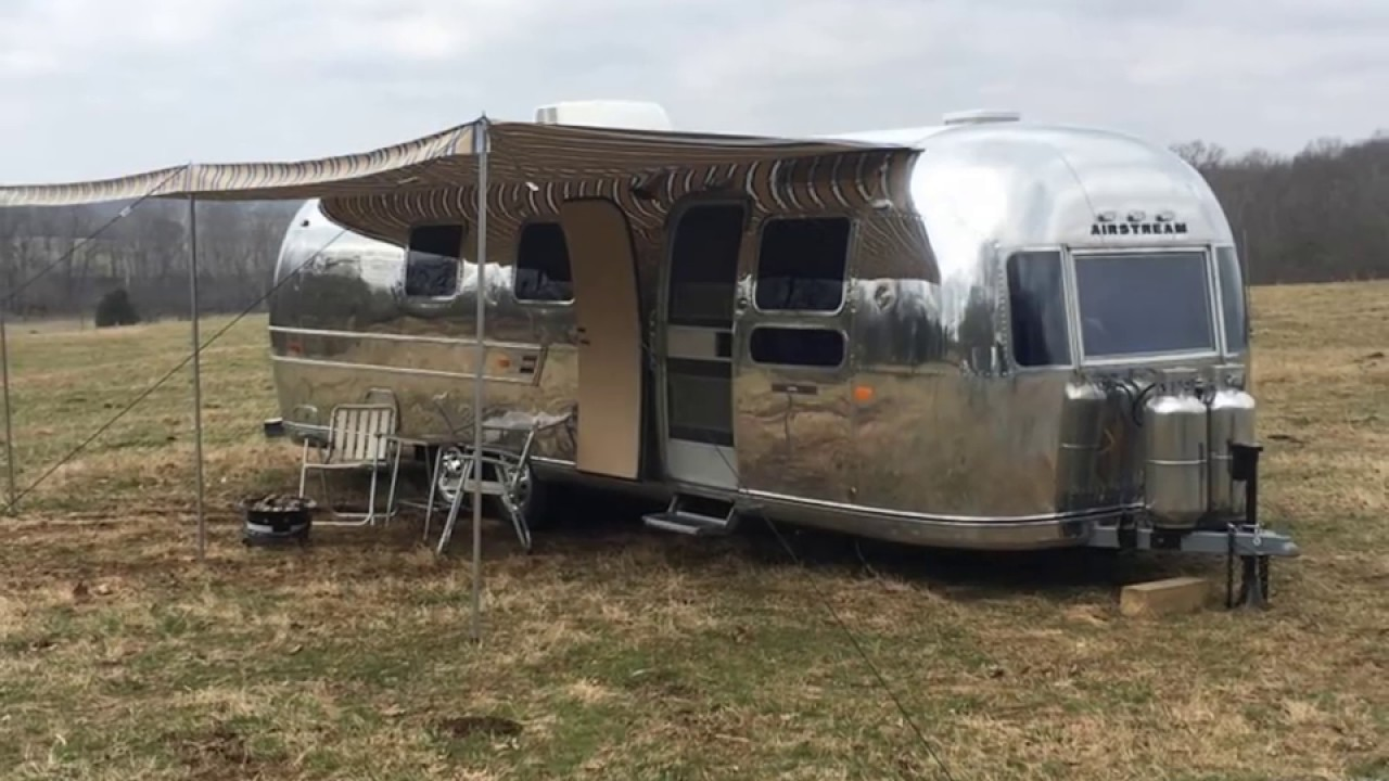 1972 Airstream Sovereign 31' Travel Trailer Renovated