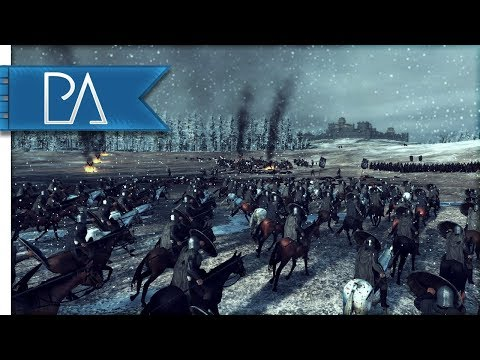 BATTLE OF BASTARDS - Game of Thrones - Seven Kingdoms Total War Mod Gameplay