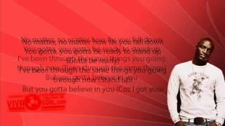 Akon Over The Edge + Iyrics