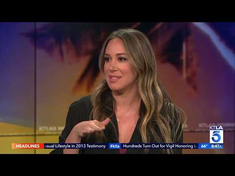 "Haylie Duff On the Spookiness of Starring in ""The Sandman"""