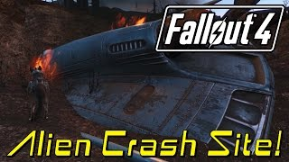 Fallout 4 Tips 'n Tricks | ALIEN CRASH SITE and ALIEN BLASTER LOCATION!