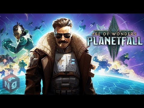 Одна из лучших стратегий - Age Of Wonders: Planetfall! Прохождение.