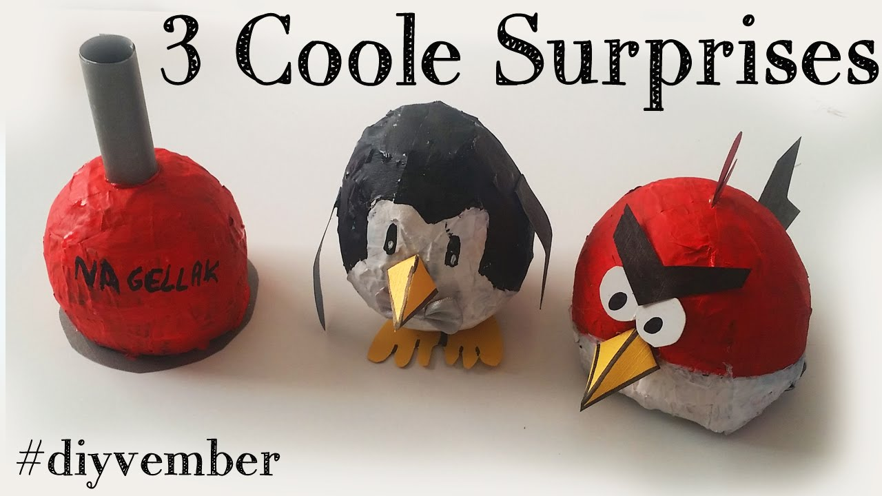 Super DIY 3 Sinterklaas Surprise Ideeën! Makkelijke Knutsel ideeën @EV21