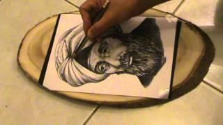 Basics Of Pyrography (woodburning)portrait Part 3