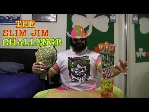 "THE SLIM JIM CHALLENGE (Featuring L.A. ""Macho Man"" BEAST)"