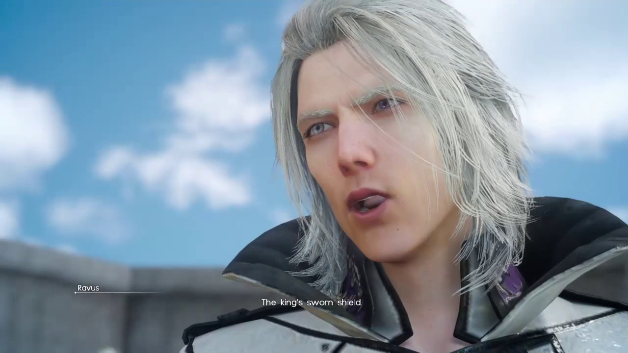 Final Fantasy Xv Chapter 5 Noctis Vs Ravus Youtube