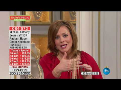 HSN | Michael Anthony Jewelry Gifts 11.30.2016 - 09 AM