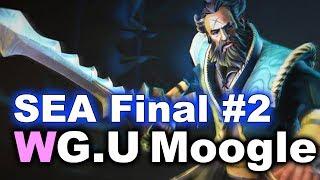 WG.U vs Moogle (with Meracle) - Final TI7 SEA Open Quals #2 DOTA 2