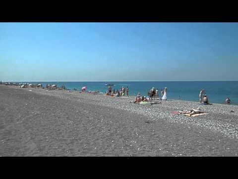 Абхазия пляж Алахадзы