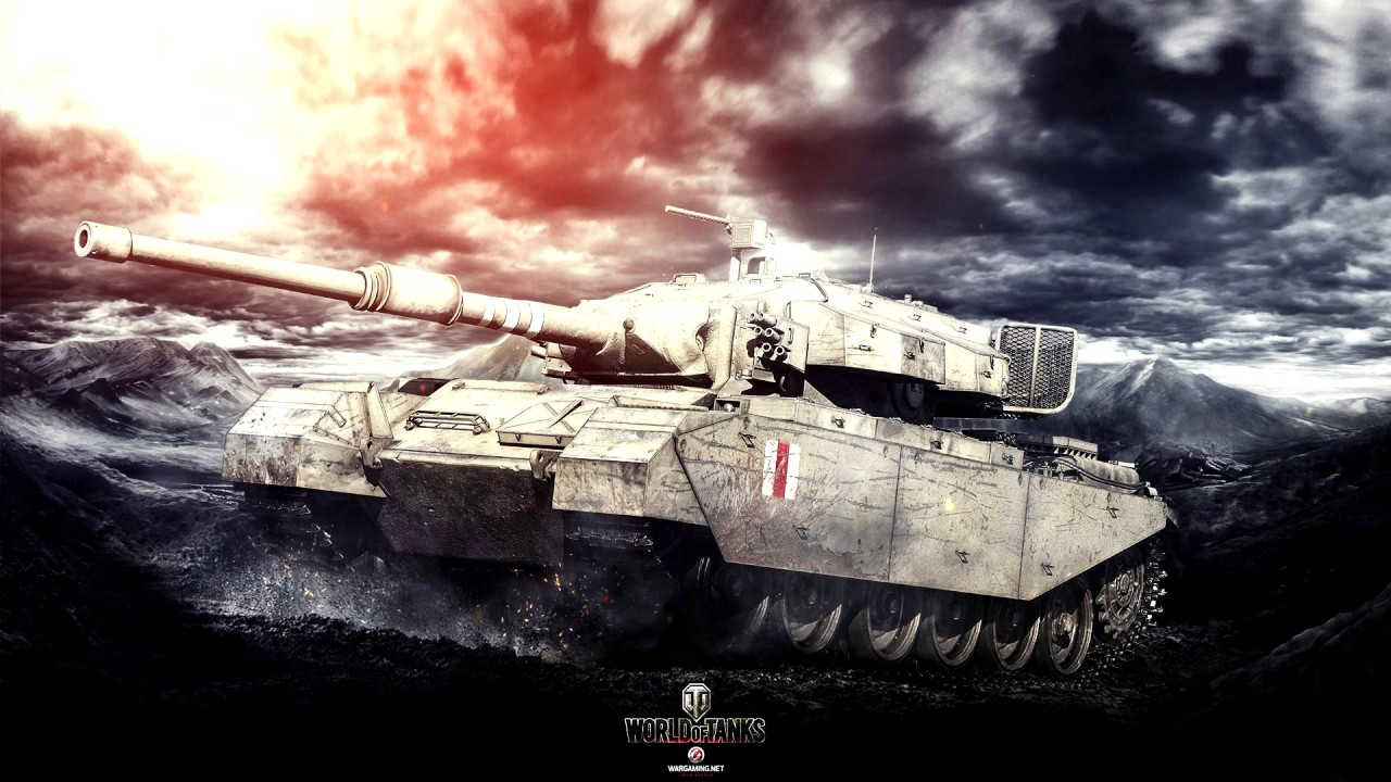 wallpaper engine | world of tanks - centurion animated wallpaper