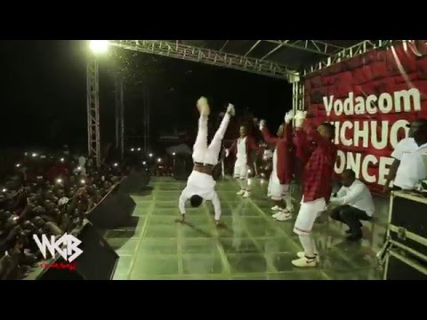 Diamond Platnumz  & Mafikizolo Live Perfomance At UDOM [DODOMA] Part  6