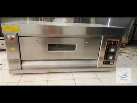 Single Deck Gas Pizza Oven Price in Delhi | India