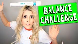 BALANCE CHALLENGE // Grace Helbig