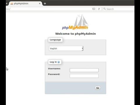 Install + Running Phpmyadmin on nginx (Ubuntu 16.04)
