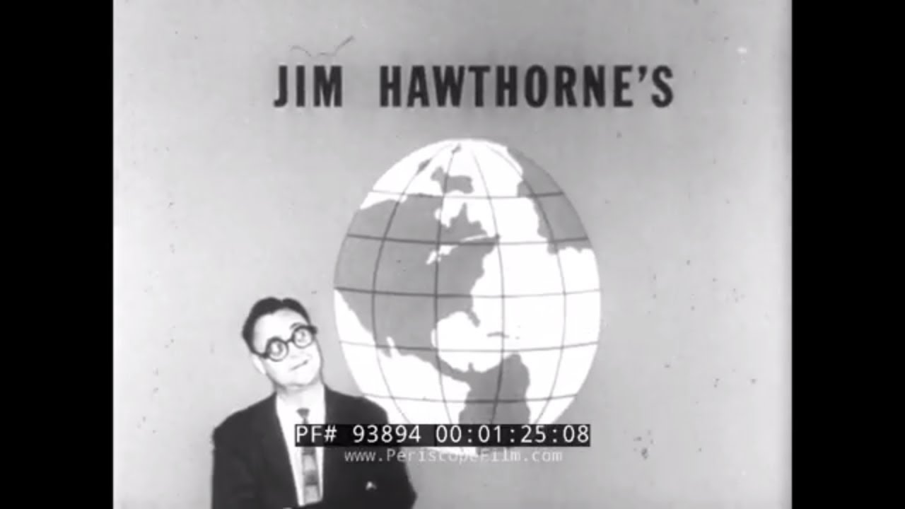JIM HAWTHORNE'S FUNNY WORLD  1960s SHORT NON-FICTION COMEDY  TV SHOW 93894