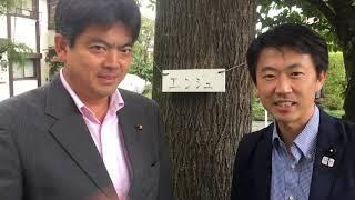 新政の会幹事長の鬼丸裕史議員より、石川良三市長の人柄や今のお腹の空...