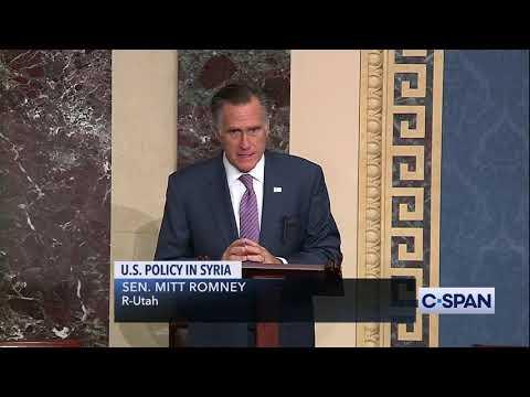 While the Senate fiddles, Romney burns Trump's Kurdish betrayal as a strategic debacle, 'blood stain' on America