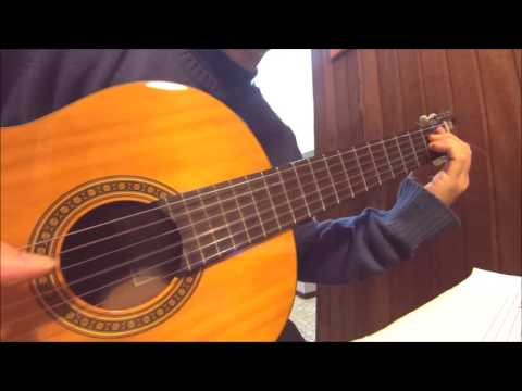 Tonada de un viejo amor, (Jaime Dávalos - Eduardo Falú) guitarra: Nicolás Olivero.