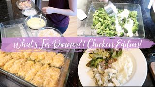 Week of Dinners All Chicken Recipes! What's For Dinner Chicken Edition!