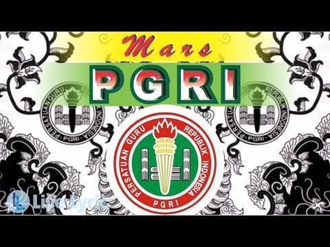MARS PGRI (lirik)