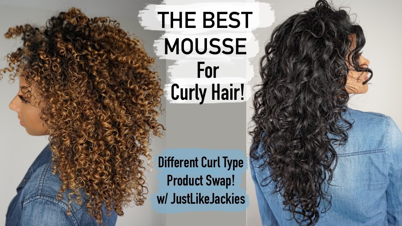 The Best Mousse For Curly Hair Product Swap W Justlikejackies Biancareneetoday Youtube