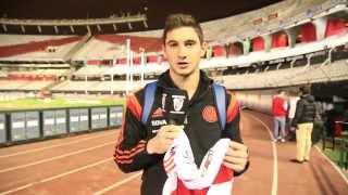 Somos River: ganá la camiseta de Lucas Alario