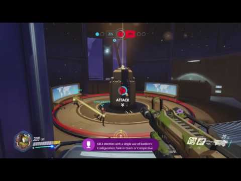 Overwatch - Bastion | Charge Achievement