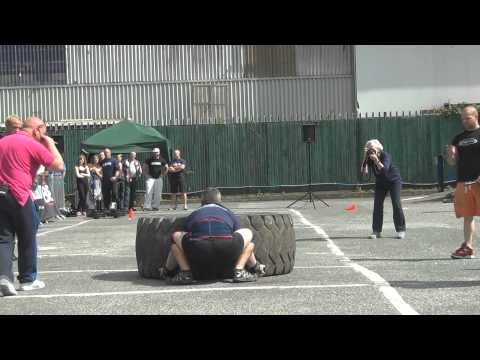 Krunch Strongest Man 2011  Will Sanderson