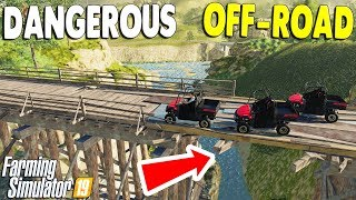 THIS IS TOO DANGEROUS, IS THIS LEGAL? | Off-Road Adventure | Farming Simulator 19 Gameplay