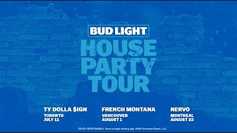 Bud Light House Party Tour 2018 - YouTube