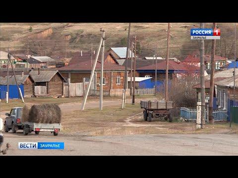 В селе Верхнее Куртамышского района благоустраивают территорию