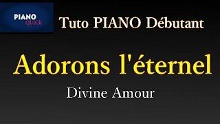 Divine Amour - Adorons L