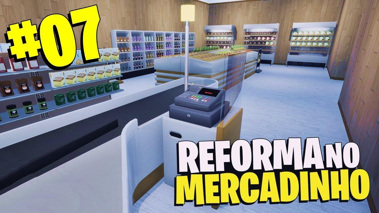 CONSTRUIMOS O MERCADINHO MAIS LUCRATIVO DESSE JOGO! - King of Retail #07