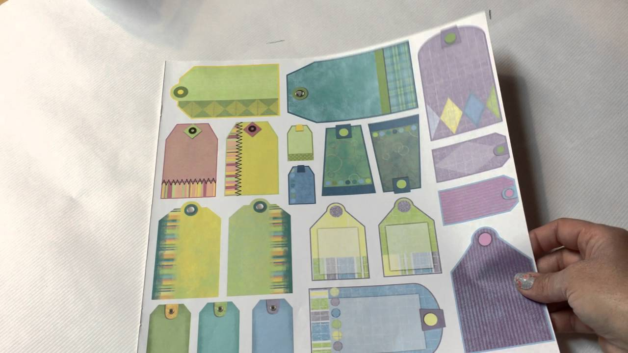 How to make scrapbook paper designs - Make Your Own Scrapbook Paper Kit