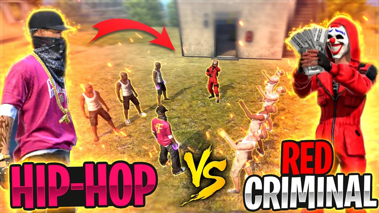 Free Fire Hip Hop Bundle Showing Attitude To Adam Gone Wrong - 🔥 Red Criminal #Shorts