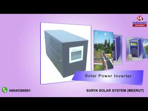 Solar Products By Surya Solar System, Meerut