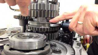 Straight cut gears explained as well as the Dog Box