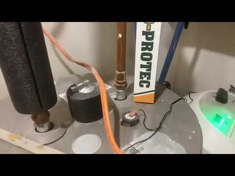 Eliminate Smelly Water From Well System Corro-Protec Powered Water Heater Anode Rod