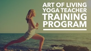 Yoga Teachers Training Program | Art Of Living