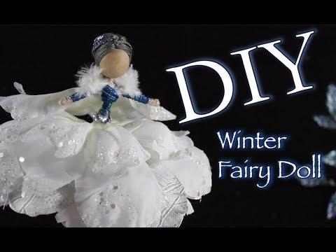 DIY Winter Fairy Doll Tutorial