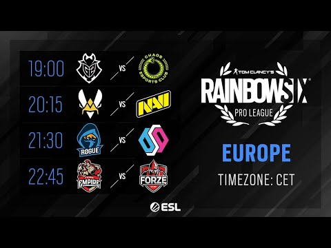 Rainbow Six Pro League - EU - Season XI - Playday #4