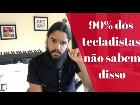 Maneira certa de fazer escalas no teclado l Léo Carvalho